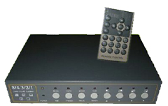 1/2/3/4/8 Channel Digital Video Colour Quad Processor