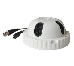 White Smoke Detector Dome Colour Digital Video CCD Camera