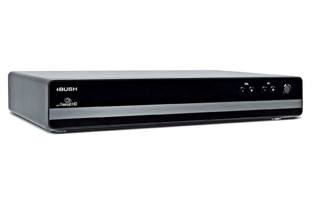 Bush Black Freesat HD Digital Box